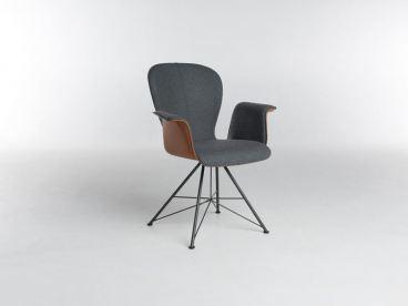 bert plantagie blake spin polsterstuhl mit armlehnen zweifarbige ausf hrung w hlbar. Black Bedroom Furniture Sets. Home Design Ideas