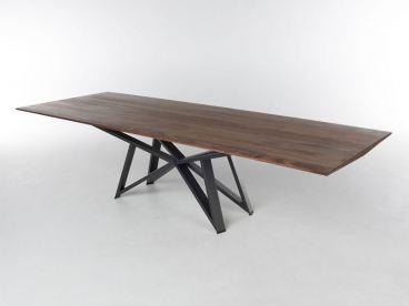 Bert Plantagie Tisch Stella Mit Fester Massivholzplatte Esstisch Ohne Funktion Fur Esszimmer Tischplattenausfuhrung Gestellausfuhrung Und Grosse