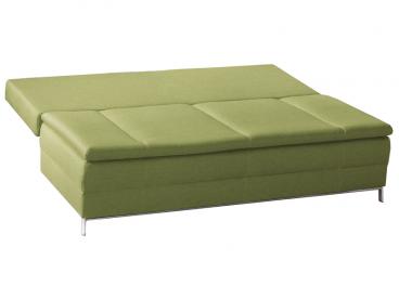 restyl andora schlafsofa centa 2 sitzer in gr n mit bettkasten. Black Bedroom Furniture Sets. Home Design Ideas