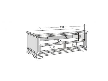 selva villa borghese tv m bel 5377 italienisches stilm bel. Black Bedroom Furniture Sets. Home Design Ideas