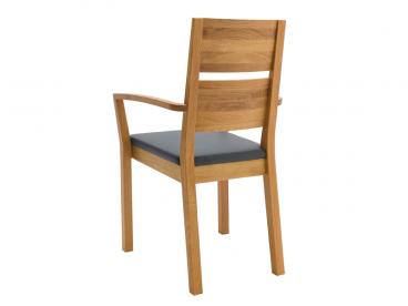wimmer silent2 holzstuhl mit fest geposterten sitz w hlbarem bezug und holzteil f r esszimmer. Black Bedroom Furniture Sets. Home Design Ideas