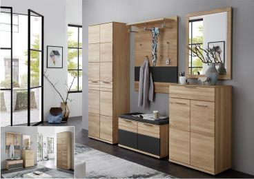 achat garderobenkombination ideal f r flur und eingangsbereich. Black Bedroom Furniture Sets. Home Design Ideas