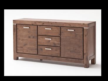 euro diffusion victoria sideboard aus akazie massivholz. Black Bedroom Furniture Sets. Home Design Ideas