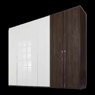 Nolte Möbel Concept Me 100 Falt- / Drehtürenschrankkombination 6-türig