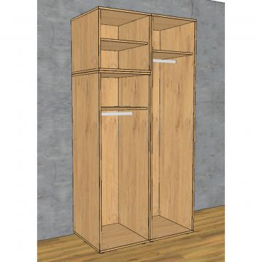 rudolf m bel kleiderschrank fiftytwo guenstiger kaufen bei. Black Bedroom Furniture Sets. Home Design Ideas
