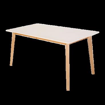 Standard Furniture Esstisch Vinko Mit Weiss Lackierter Platte Am Lager