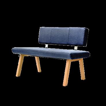 standard furniture konstanz einzelbank holzgestell und bezug w hlbar. Black Bedroom Furniture Sets. Home Design Ideas