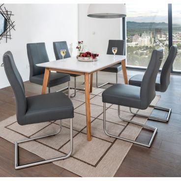 Standard Furniture Stuhl Gina Schwingstuhl mit Griff im
