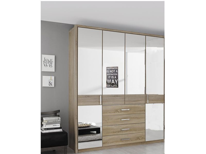 rauch select elan kleiderschrank dreht renschrank g nstig kaufen. Black Bedroom Furniture Sets. Home Design Ideas