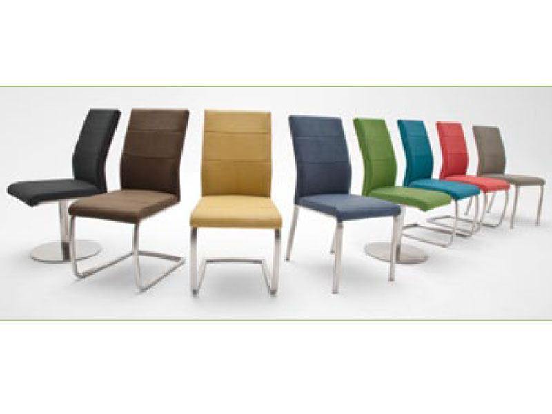 flores stuhl von mca in vielen kunstlederbez gen und. Black Bedroom Furniture Sets. Home Design Ideas