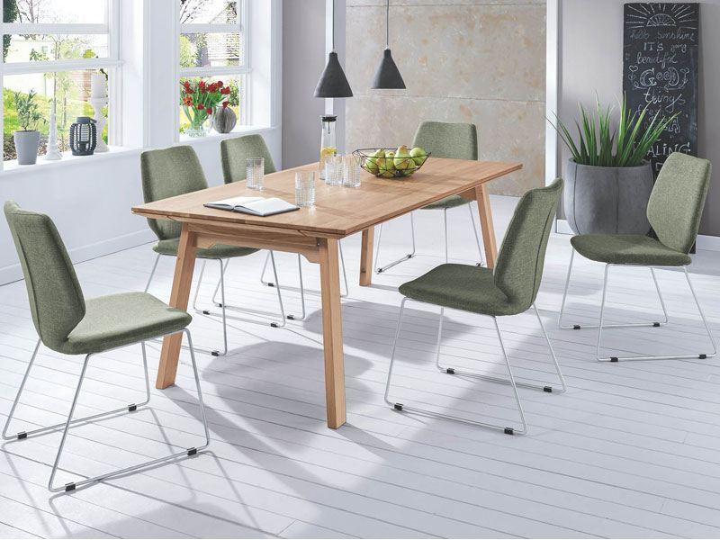designtisch esstisch massivholz mit vielen funktionen. Black Bedroom Furniture Sets. Home Design Ideas
