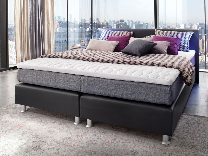belcanto boxspringbett luxus liegefl che 180x200 cm. Black Bedroom Furniture Sets. Home Design Ideas