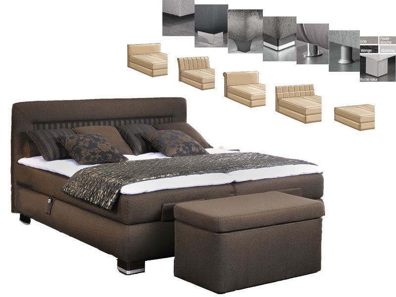 belcanto boxspringbett prestige viele w hlbare optionen. Black Bedroom Furniture Sets. Home Design Ideas