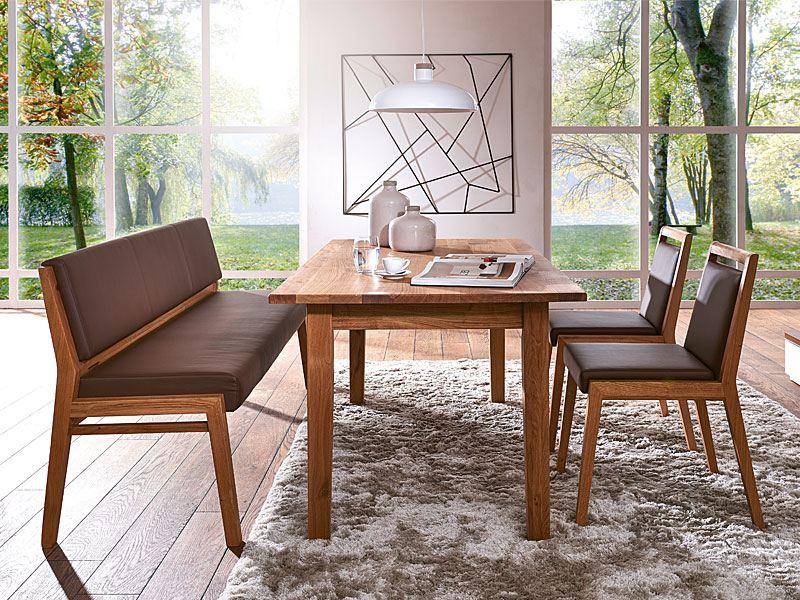 sch sswender esstisch mit platte aus massivholz ohne auszug. Black Bedroom Furniture Sets. Home Design Ideas