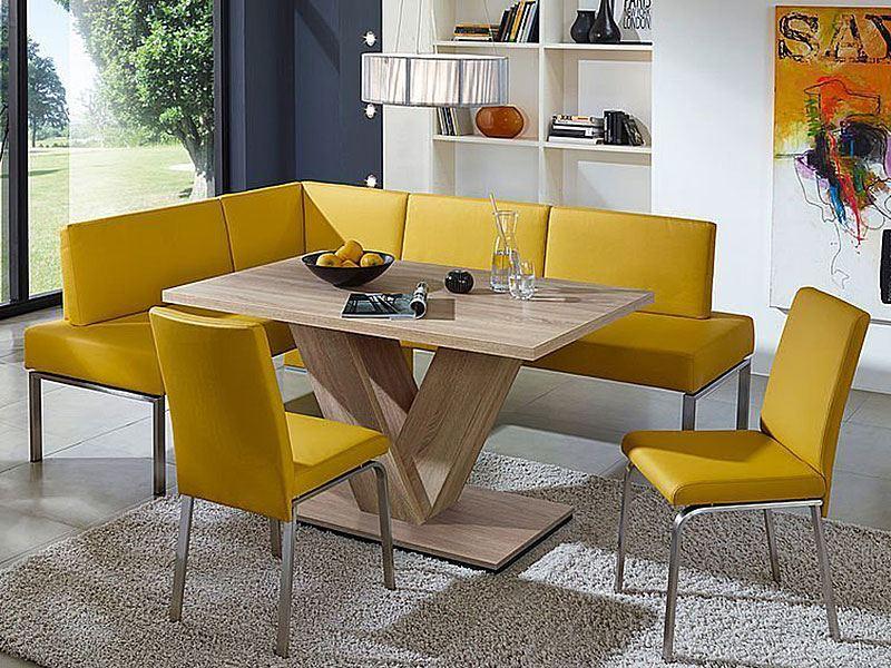 sch sswender moderner polsterstuhl mit edelstahlgestell. Black Bedroom Furniture Sets. Home Design Ideas