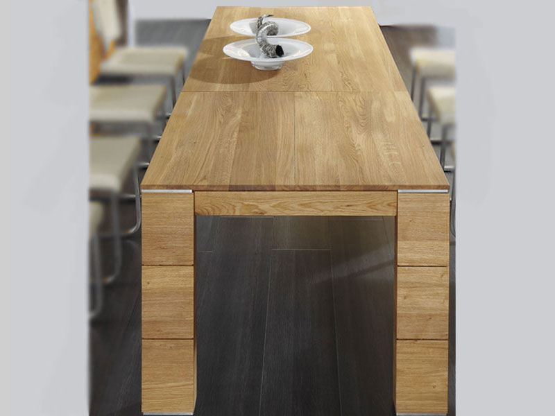 wimmer acerro esstisch 4 fu esstisch l nge w hlbar breite x h he ca 95 x 77 cm massivholz mit