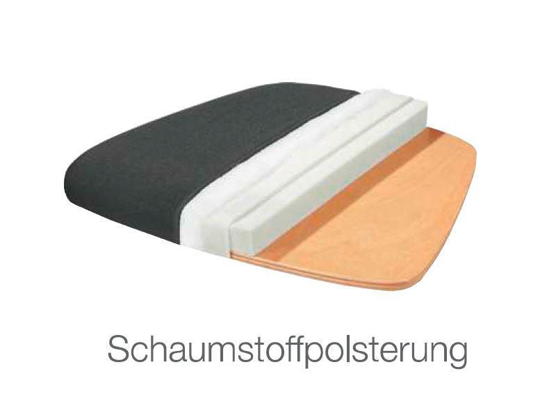 dkk klose kollektion stuhlsystem take 5 polstersessel zweifarbig. Black Bedroom Furniture Sets. Home Design Ideas