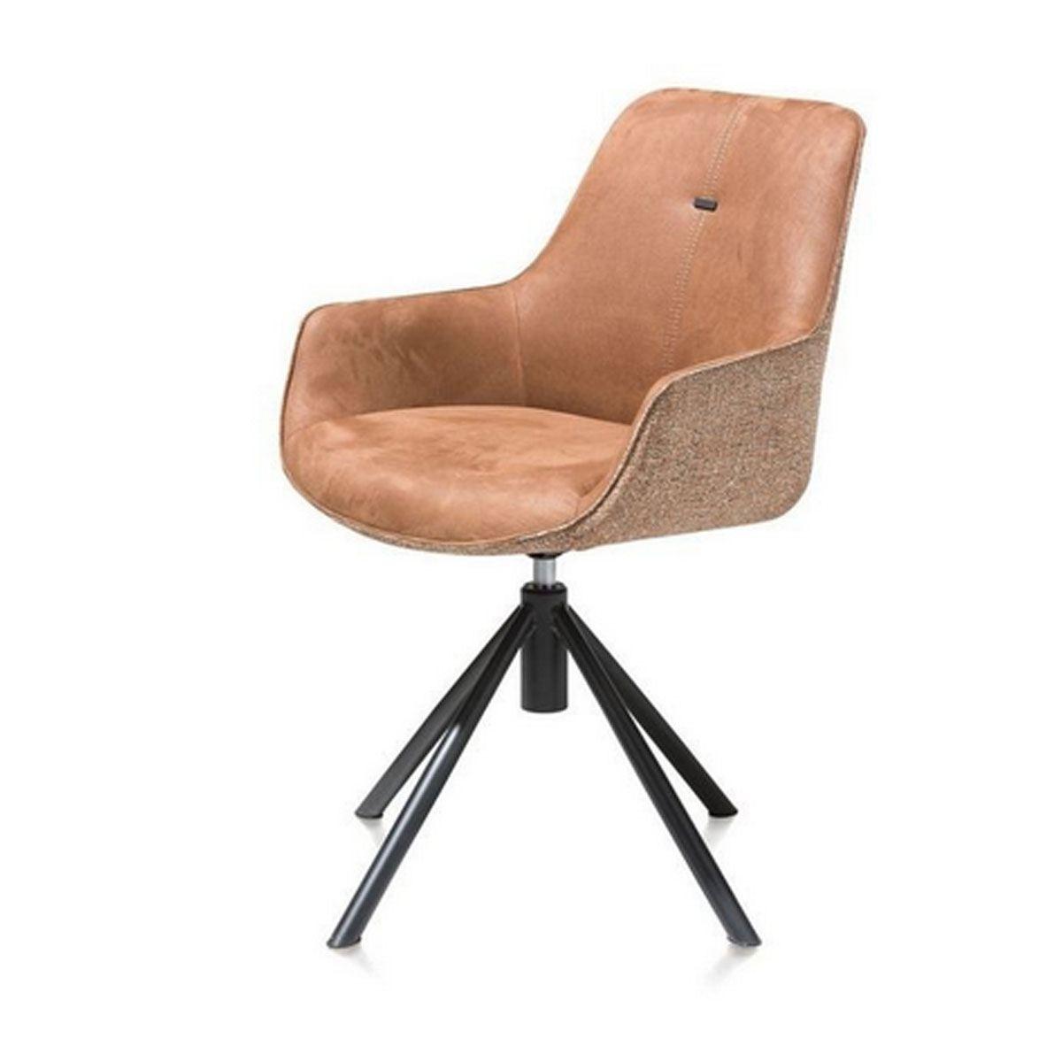 habufa jill drehstuhl mit metallgestell und armlehne farbausf hrung w hlbar f r ihr esszimmer