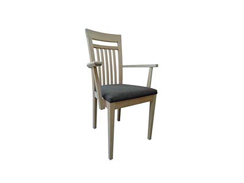 dkk klose sessel s27 mit armlehnen und holzsprossen. Black Bedroom Furniture Sets. Home Design Ideas