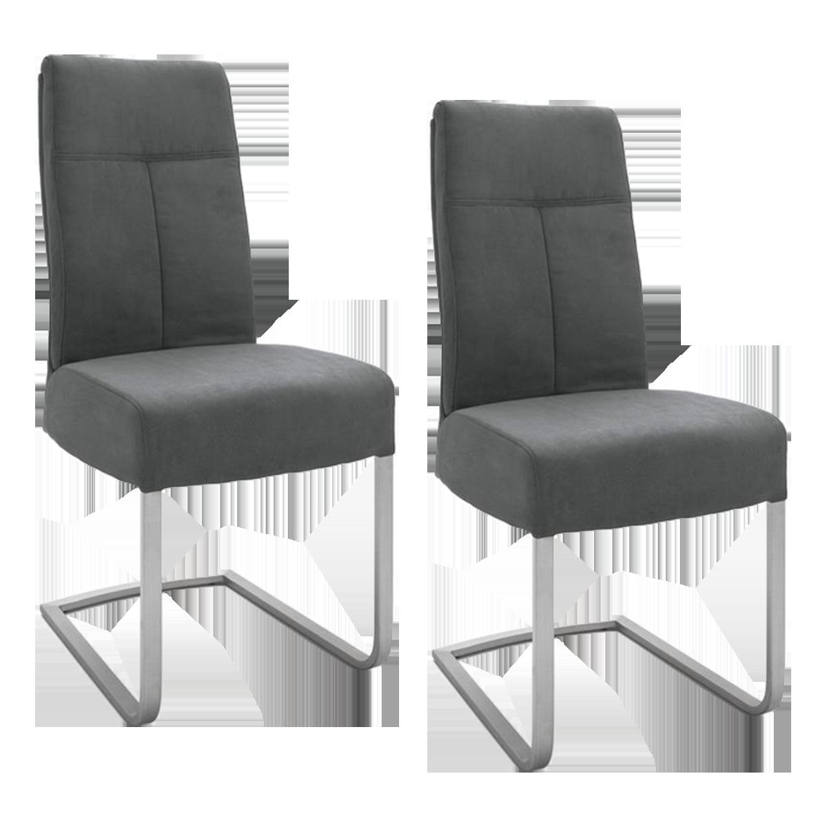 2x mca furniture schwingstuhl talena gestell flachrohr. Black Bedroom Furniture Sets. Home Design Ideas