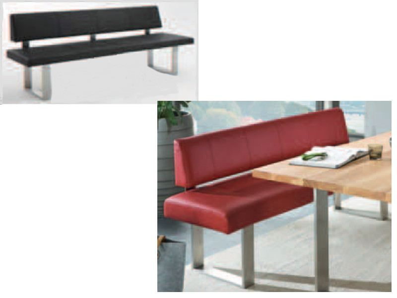 niehoff linea dining time einzelbank polsterbank in verschiedenen gr en w hlbar. Black Bedroom Furniture Sets. Home Design Ideas