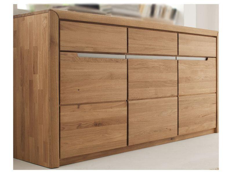 Quadrato Sideboard In Eiche Massivholz Fur Ihr Wohnzimmer