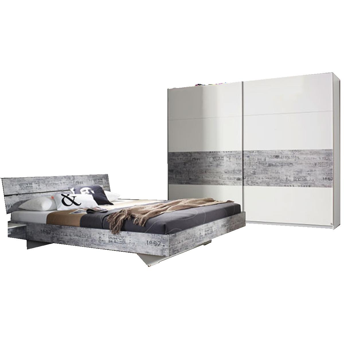 Rauch sumatra extra schlafzimmer alpinwei mit absetzung for Schlafzimmer vintage optik