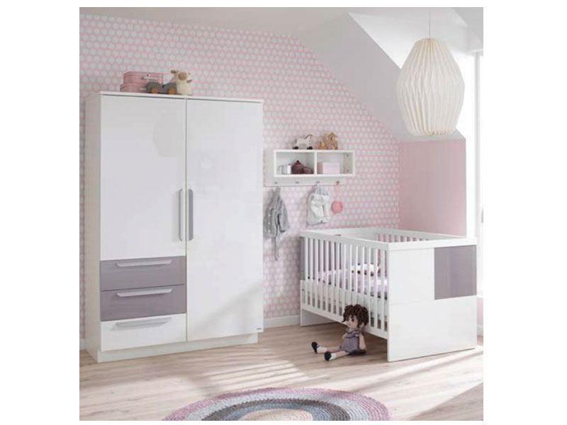 babyzimmer milla 2 teilig von wellem bel wei farbliche. Black Bedroom Furniture Sets. Home Design Ideas